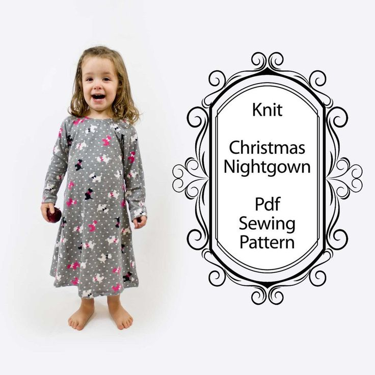 Sew a Baby/Toddler Nightgown with this easy Sewing Pattern. I love giving my…