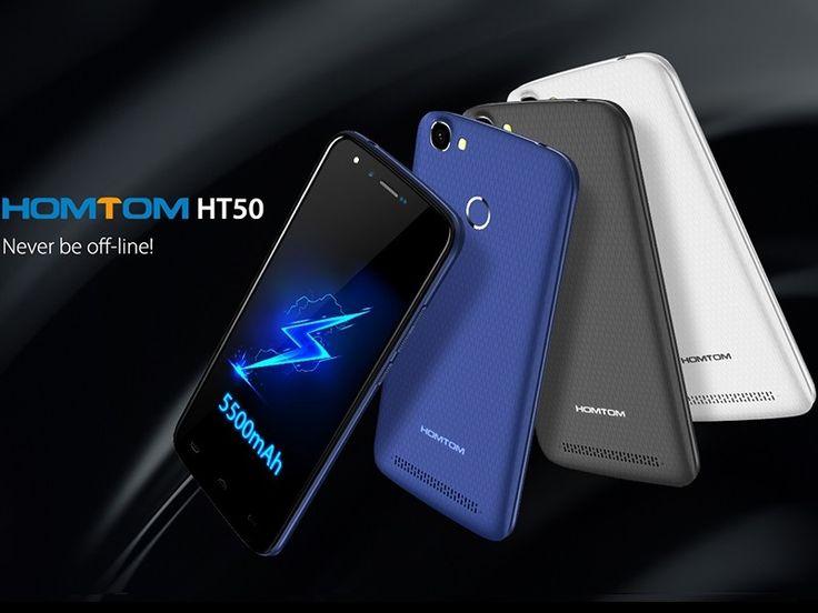 HOMTOM HT50: gran batería a precio de risa