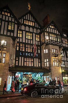 Liberty of London Out Front Night Travel Photography by Mike Reid