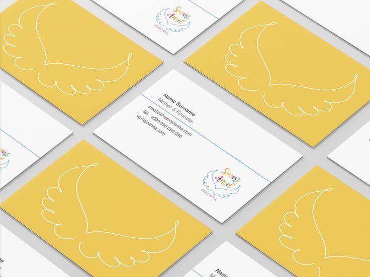 Smart Angel BusinessCards  | Varró Joanna Design | Corporate Identity | Branding | Graphic Design | Inspiration | Graphic Designer