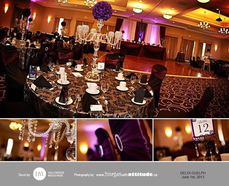 Hollywood weddings kitchener print design staging deco wedding wrapped