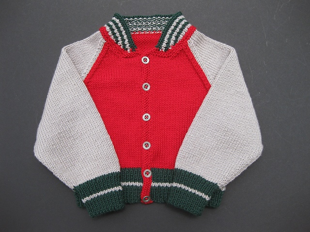 Knit Baseball Jacket