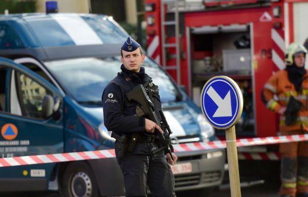Belgia 43-latek oskarżony w związku z atakiem na policjantów w Brukseli - Wirtualna Polska