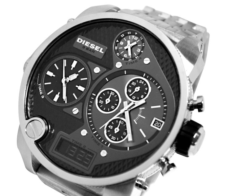 Save $88.59 on Diesel Analog & Digital Wrist Watch DZ7221 - For Men with http://www.directbargains.com.au/