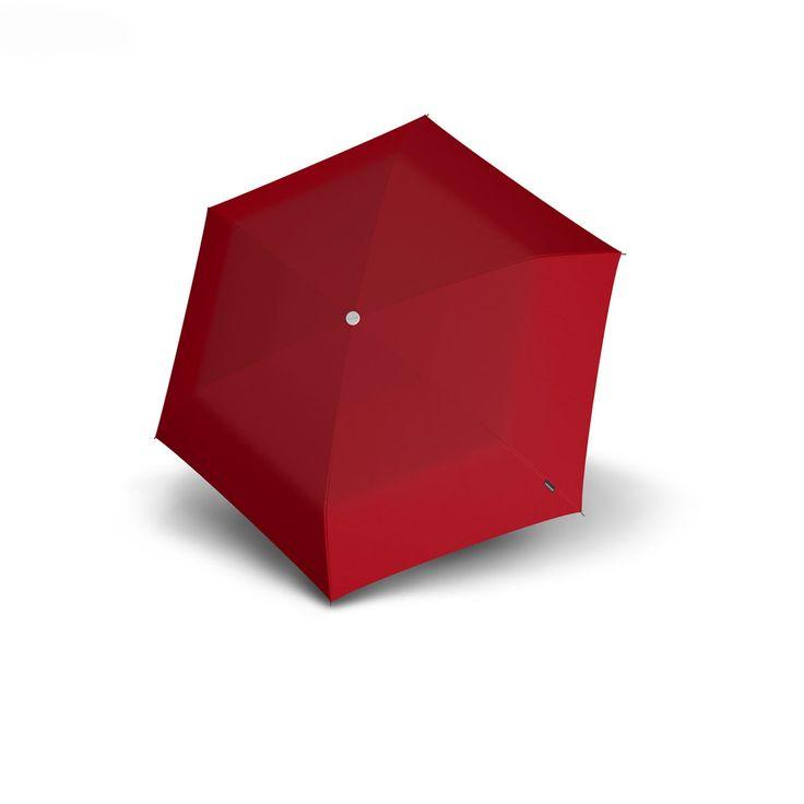 Knirps 815 Travel | Compact Mini Umbrella | Red