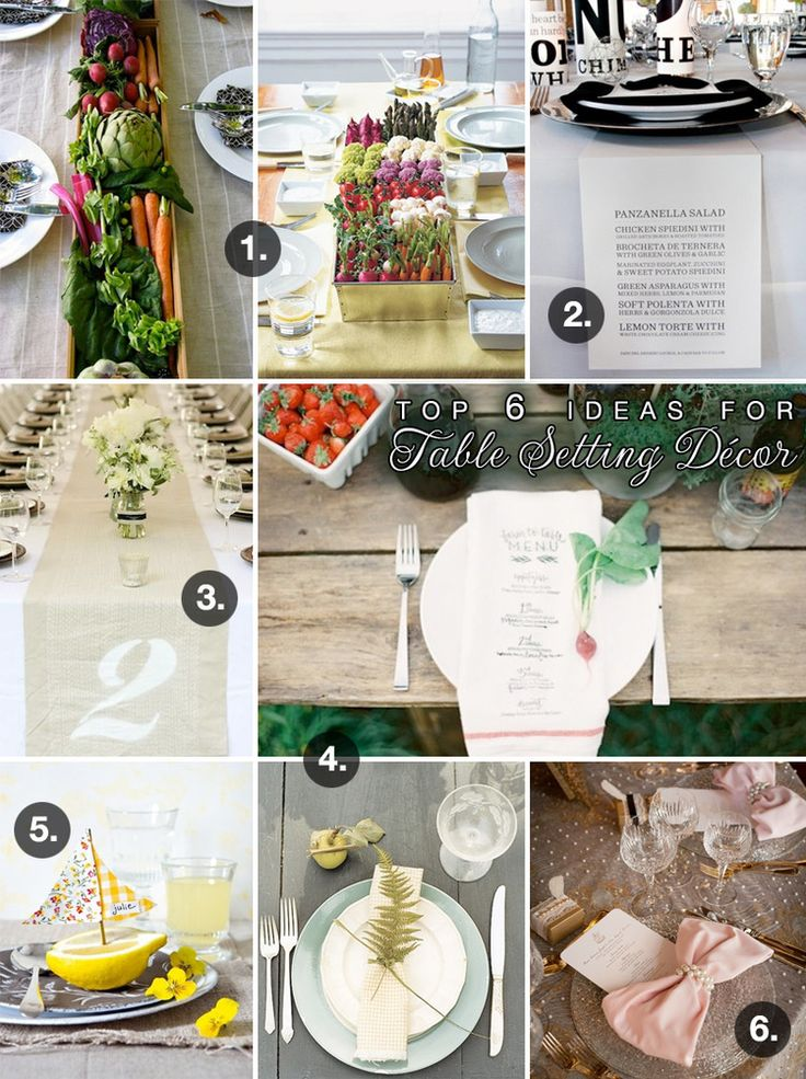 6 Unique Decorating Ideas For Wedding Reception Tables