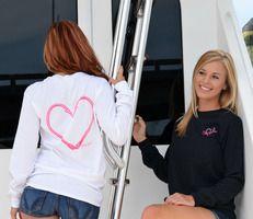 Heart Hook Fishing Longsleeve shirts $22