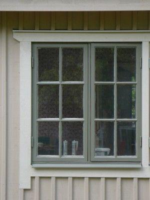 Vilken färg på fönster?