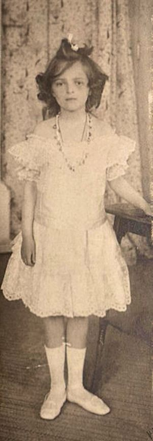 A young Princess Irina Alexandrovna Romanova