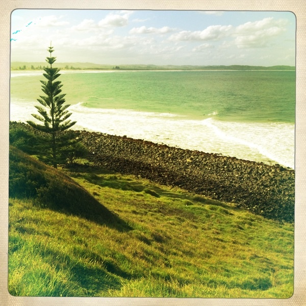 Seven Mile Beach, Lennox Head - Mar 2012