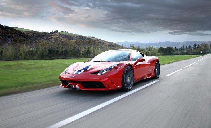 2015 Ferrari 458 Speciale Aperta Front Angle