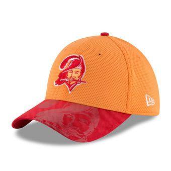 New Era Tampa Bay Buccaneers Orange Sideline Classic 39THIRTY Flex Hat