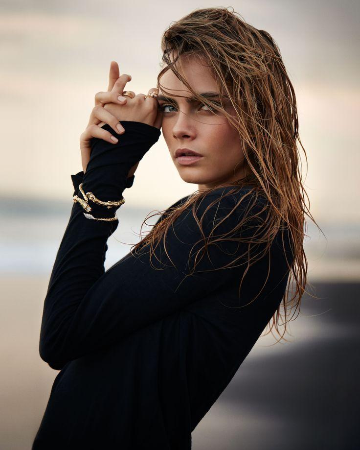 Sebastian Faena – Cara Delevingne – John Hardy Jewellery – Beach sunset editoria …