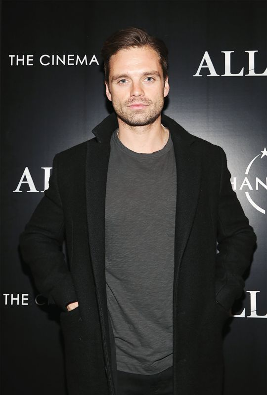 Sebastian Stan attends a special screening of 'Allied' hosted by Paramount Pictures, The Cinema Society & Chandon at iPic Fulton Market on November 15, 2016 in New York City.