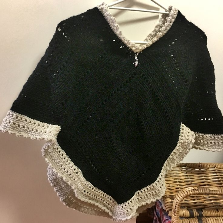 Poncho Made with love for Saira