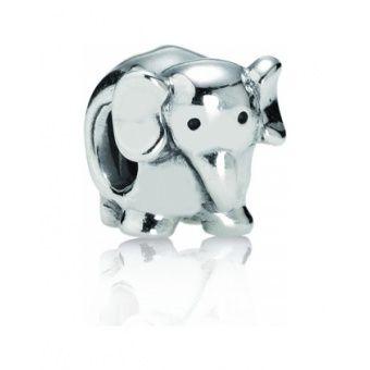 Junior, le petit éléphanteau, qui indique à Mowgli comment marcher dans la patrouille de son père! Charm argent éléphant - Pandora - 29€