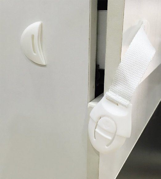 10-Pack of Child Safety Latches with Straps