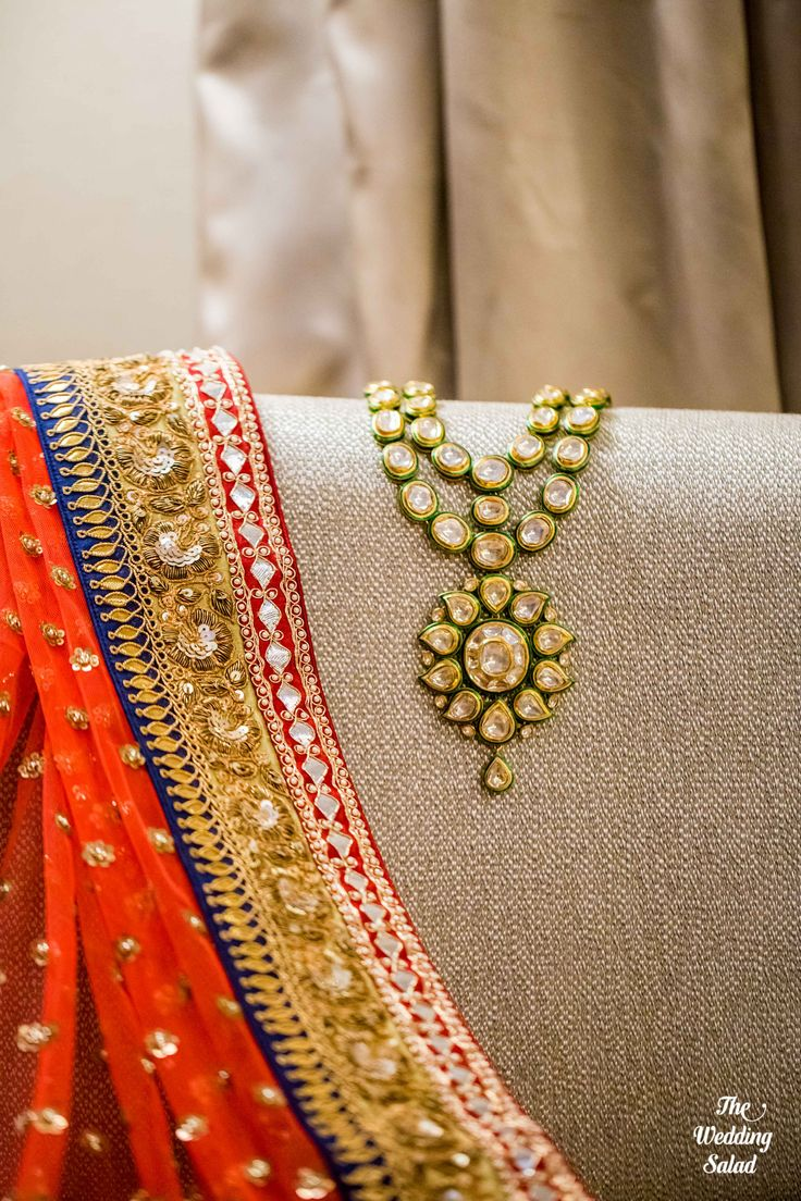 Bridal Jewellery | Kundan | Photo by The Wedding Salad