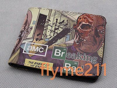 New amc #breaking bad bifold #wallet short coin #purse free shipping,  View more on the LINK: 	http://www.zeppy.io/product/gb/2/252169688332/