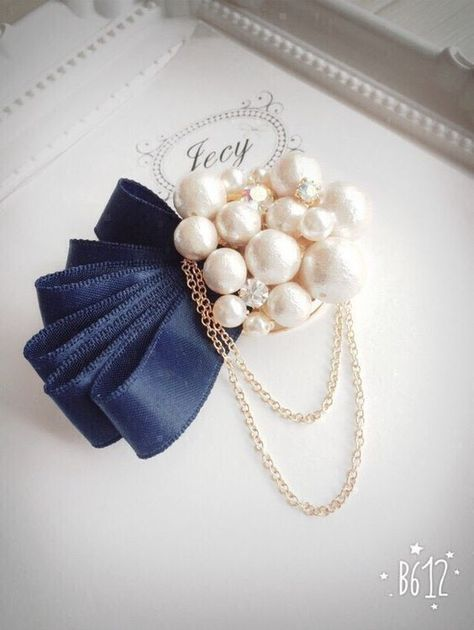 Broche Perlas #dijes