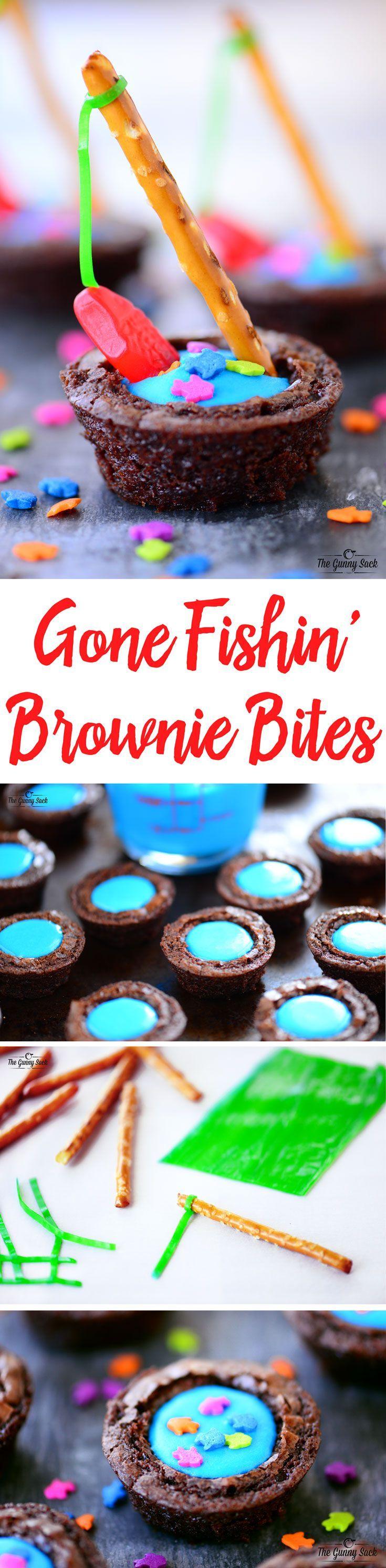 Gmail theme gone - Gone Fishin Brownie Bites