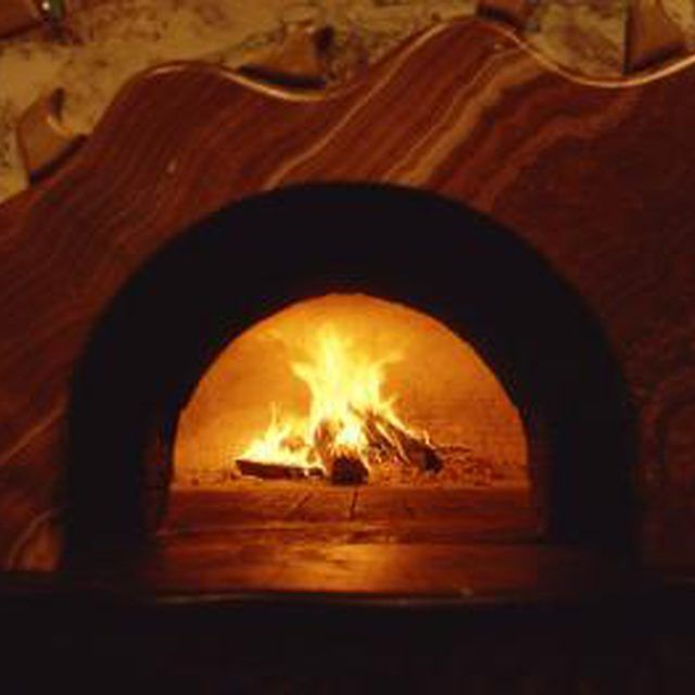 A beautiful outdoor brick oven