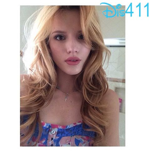 Bella Thorne Honored To Receive The Pioneering Spirit Award For Her Work With The Thirst Project June 5, 2014