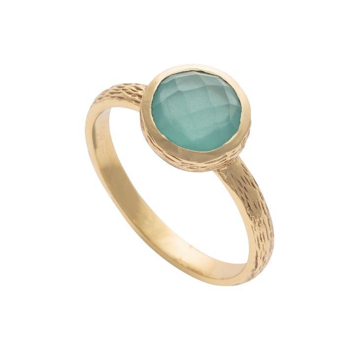 Buy the Gold Ryka Round Ring at Oliver Bonas. Enjoy free worldwide standard…