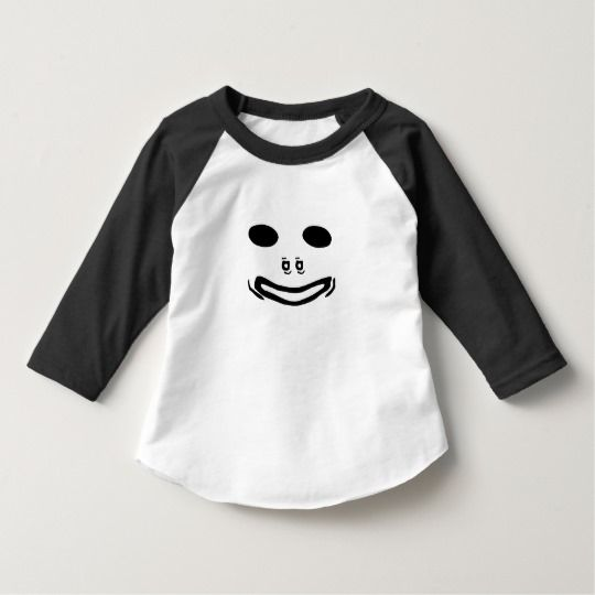 a smiling face T-Shirt a abstract smile face on a t-shirt with red eyes.