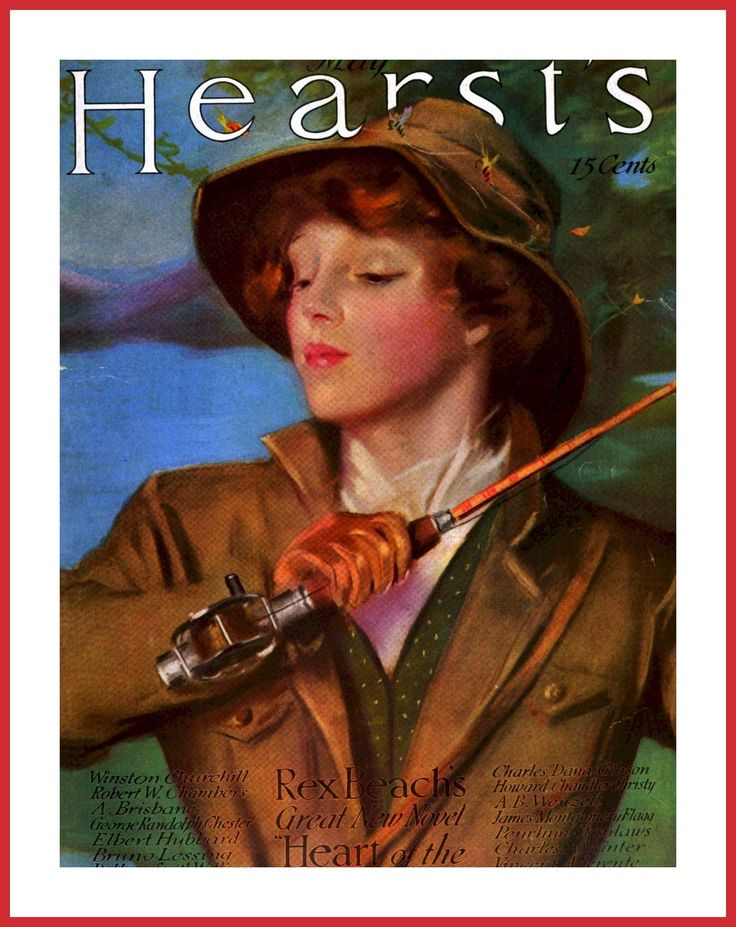 1915 may hearst 39 s by penrhyn stanlaws old magazine. Black Bedroom Furniture Sets. Home Design Ideas