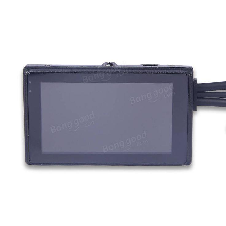 T2 1080P Motorcycle DVR Video Recorder FHD Front Rear GPS G-sensor Dual Camera