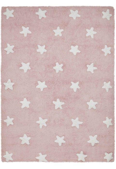 Stars Pink-White