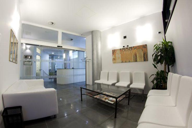 La sala attesa dello Studio Dentistico Abaco