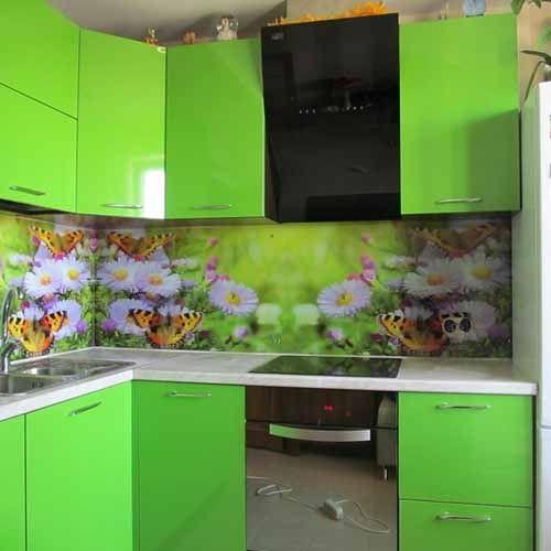 100 идей как эффектно использовать фотообои для кухни