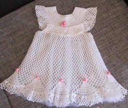 Beautiful Baptized Dress - Tutorial