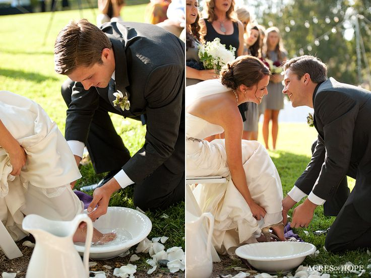 all kinds of unity ceremony ideas - love the truce bell