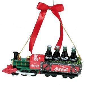 Coca-Cola Train Ornament