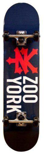 Zoo York Skateboards BRONX CRACKER NAVY Complete - 7.6