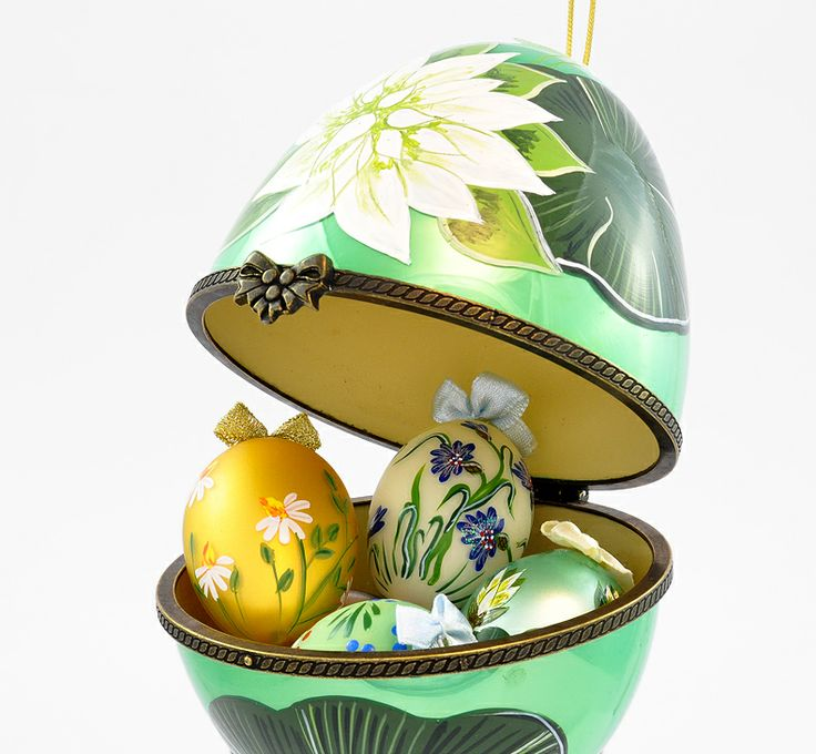 Jajko jubilerskie - Wielkanocne pisanki