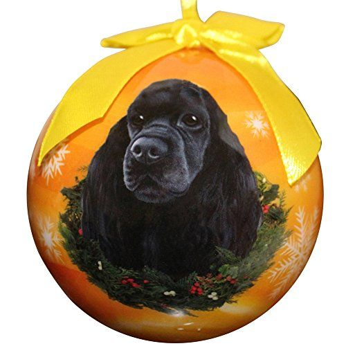 Best price on Cocker Spaniel Christmas Ornament Shatter Proof Ball Easy To Personalize A Perfect Gift For Cocker Spaniel Lovers  See details here: http://allforpetsshop.com/product/cocker-spaniel-christmas-ornament-shatter-proof-ball-easy-to-personalize-a-perfect-gift-for-cocker-spaniel-lovers/    Truly a bargain for the new Cocker Spaniel Christmas Ornament Shatter Proof Ball Easy To Personalize A Perfect Gift For Cocker Spaniel Lovers! Have a look at this budget item, read buyers' notes on…