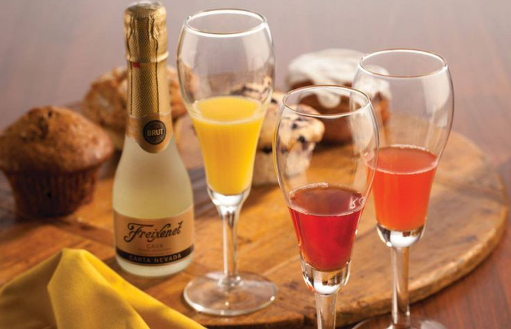Making a mimosa is simple, but making a brilliant one takes flair.