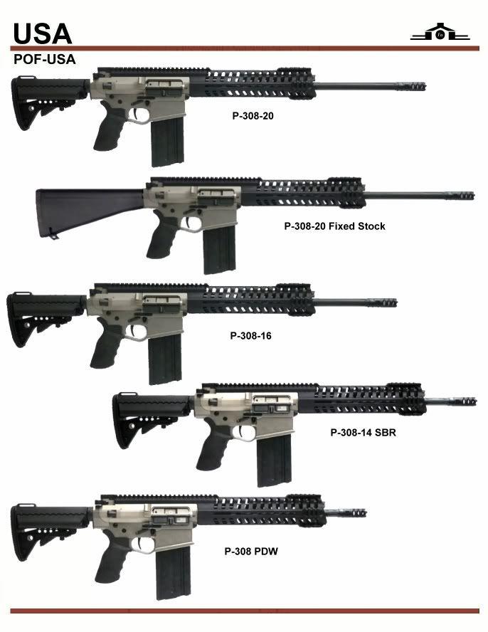 POF P-308 Series. Very high quality rifles!
