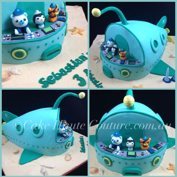 Octonauts Sculpted Cake Cake Smash Ideas Pinterest