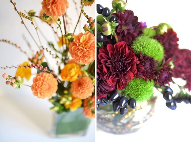 Fall Florals | Cupcakes & Cashmere