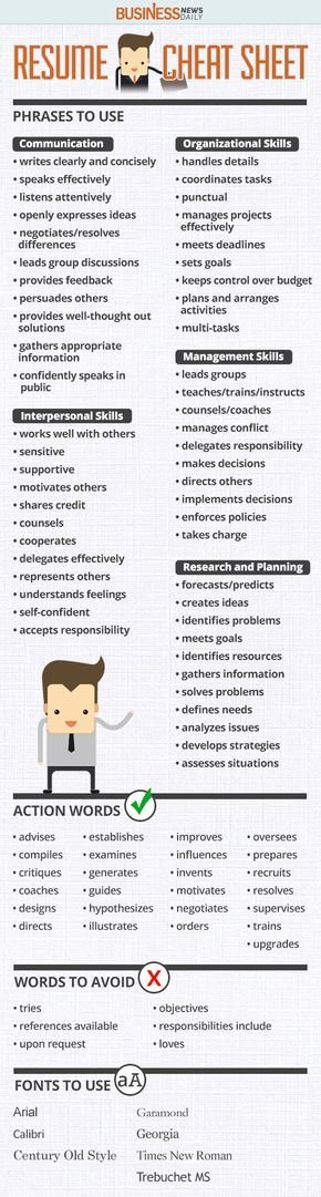 117 best Resume images on Pinterest Resume tips, Resume ideas - what should go on a resume