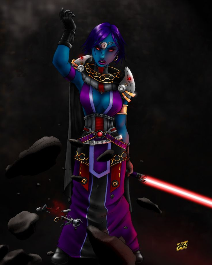 TOR Decorating | Pureblood Sith Lord (Female) (SWTOR)