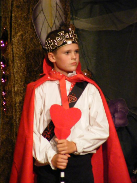 Set, Costumes from Alice in Wonderland, Junior King of Hearts