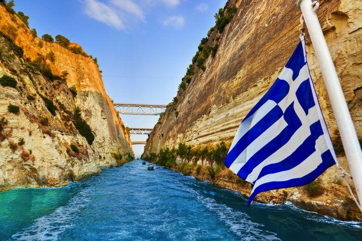 Удивительный канал продолжительностью в 6,4 км. Узнать больше http://go-everywhere.net/corinth-canal