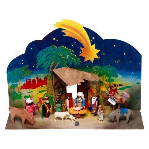 Amazon.com: Playmobil 5719 Nativity Set: Toys & Games
