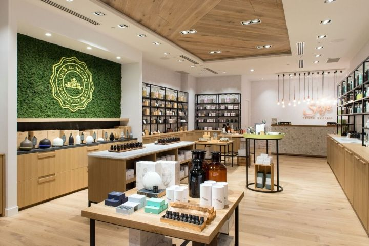 Best images about interior design cosmetic stores on